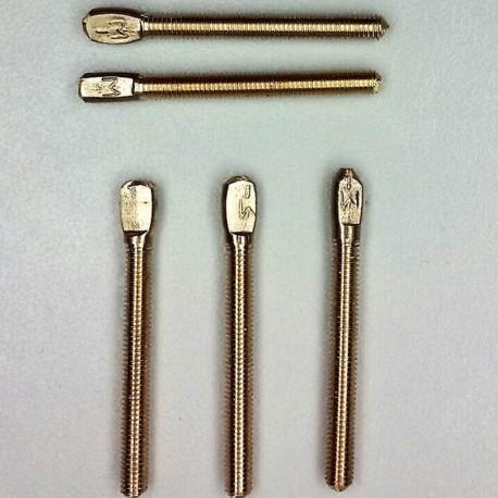Kontaktschraube aus Silber M3
